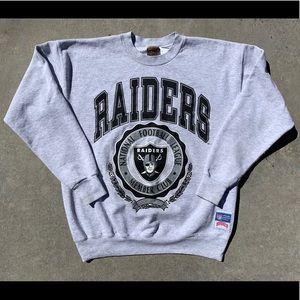 Vintage Raiders Crewneck